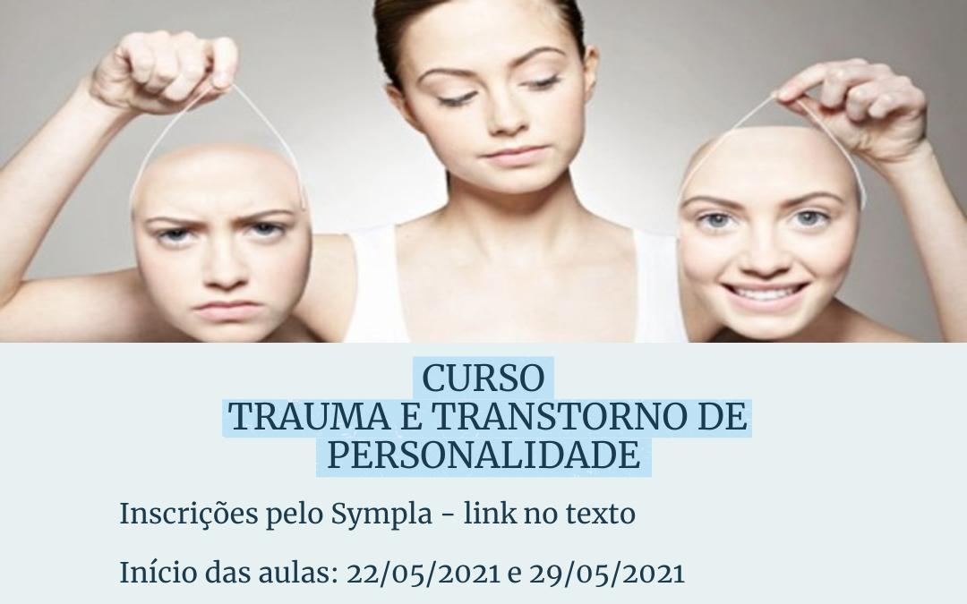 Curso Trauma e Transtorno de Personalidade